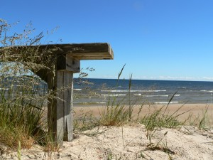 Ostseestrand in Lettland