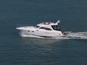 Yacht auf der Ostsee